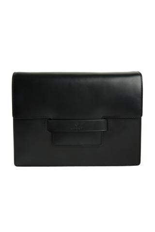 Kabelka Gant Leather Shoulder Bag dámské černá