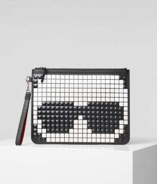 Kabelka Karl Lagerfeld K/Pixel Pouch dámské černá