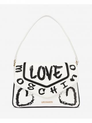 Kabelka Love Moschino dámské bílá
