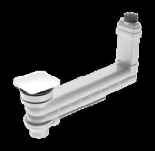 KALDEWEI odtoková a přepadová souprava CLOU s excentrickým ovládáním 905400000001