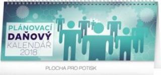 Kalendář stolní 2018 - Plánovací daňový, 33 x 12,5 cm