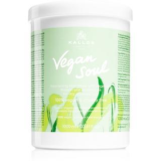 Kallos Vegan Soul výživná maska pro suché, namáhané vlasy 1000 ml dámské 1000 ml