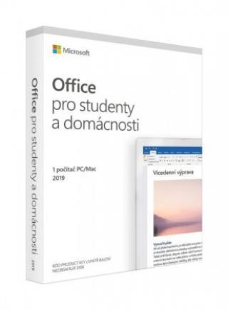 Kancelářská aplikace microsoft office 2019 pro studenty a domácnosti sk