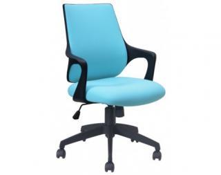 Kancelárská židle Marika, světle modrá látka