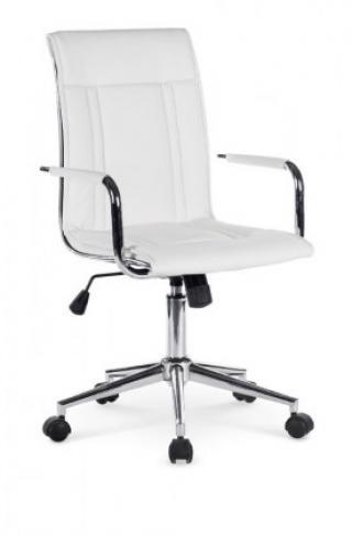 Kancelářské křeslo herbert, bílé bílá