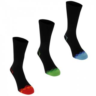 Kangol Formal Sock 3 Pack Mens pánské Check Toes | Other Mens 7-11