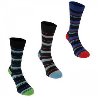 Kangol Formal Sock 3 Pack Mens pánské Other Mens 7-11