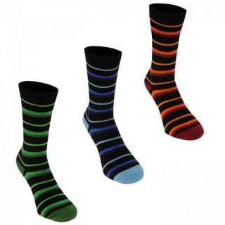 Kangol Formal Socks 3 Pack Mens pánské Other Mens 12