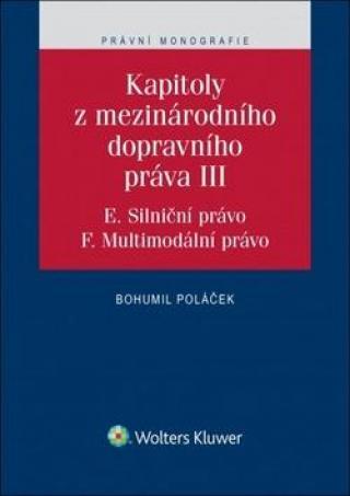 Kapitoly z mezinárodního dopravního práva III