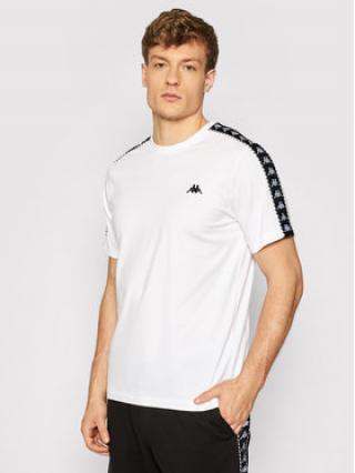 Kappa T-Shirt Ilyas 309001 Bílá Regular Fit pánské L