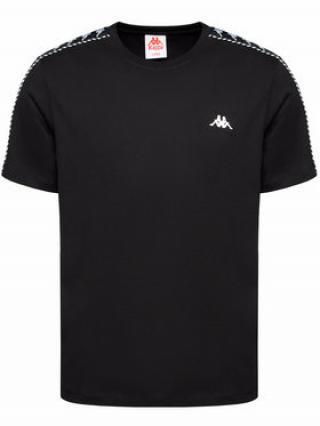 Kappa T-Shirt Ilyas 309001 Černá Regular Fit pánské S