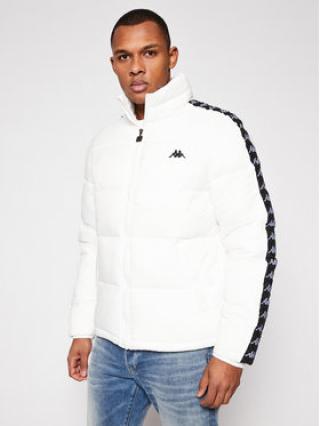 Kappa Vatovaná bunda Herold 308025 Bílá Regular Fit pánské S