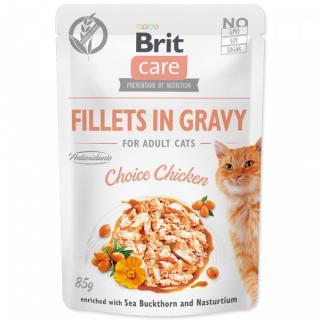 Kapsička brit care cat fillets in gravy choice chicken 85g