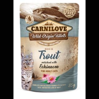 Kapsička Carnilove Cat Pouch Trout with Echinacea 85g