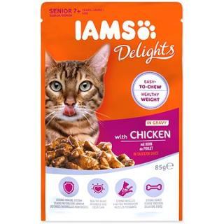 Kapsička IAMS senior kuře v omáčce 85 g