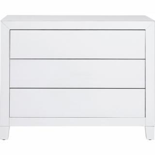KARE Design Bílý prádelník Luxury Push - 3 zásuvky