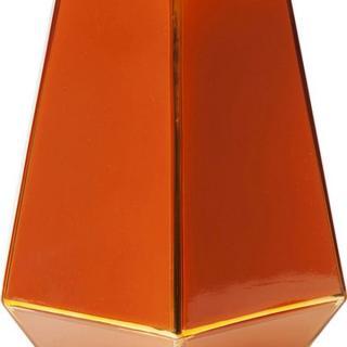 KARE Design Červená skleněná váza Art Pastel 21cm