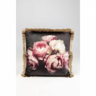 KARE Design Dekorativní polštář Blush Roses 45x45cm