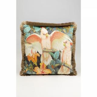 KARE Design Dekorativní polštář Parrots Life 45x45cm