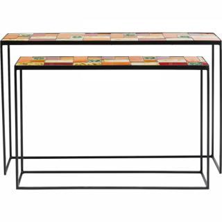 KARE Design Konzolový stolek Lisboa - set 2 ks