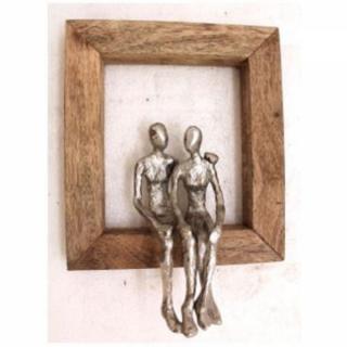 KARE Design Nástěnná dekorace Muž a žena v objetí 30cm