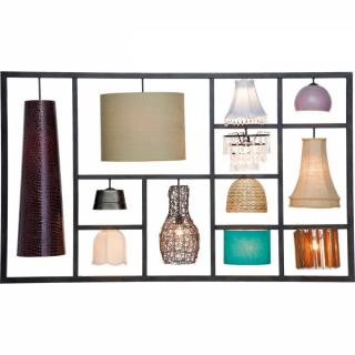 KARE Design Nástěnné svítidlo  Parecchi Art House