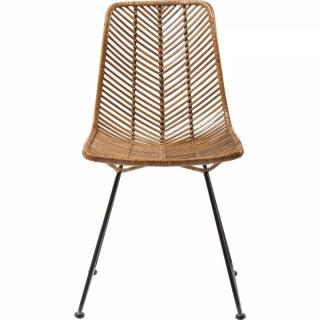 KARE Design Ratanová jídelní židle Ko Lanta