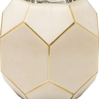 KARE Design Růžová skleněná váza Art Pastel 22cm