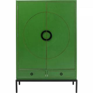 KARE Design Skříň Disk - zelená