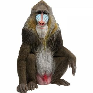 KARE Design Soška Opice Mandril rýholící 65cm