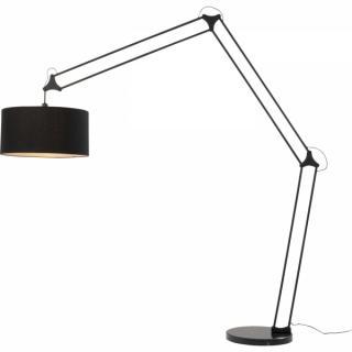 KARE Design Stojací lampa Geometry - černá