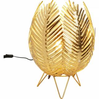 KARE Design Stolní lampa Jasmin - zlatá, 26cm