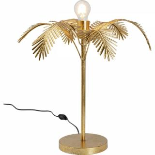 KARE Design Stolní lampa Palmera - zlatá, 52cm