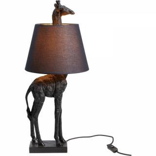 KARE Design Stolní lampa Žirafa Černá 71cm