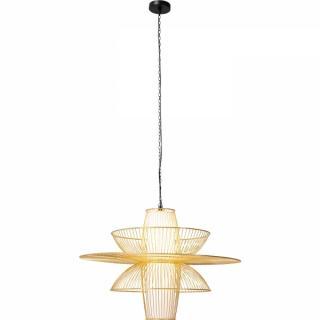 KARE Design Stropní světlo Cappello Opposto - zlaté