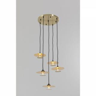 KARE Design Stropní světlo Disc Spiral - 4 světla