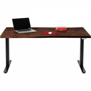 KARE Design Výškově nastavitelný stůl Harmony Dark 160x80cm
