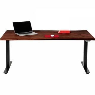 KARE Design Výškově nastavitelný stůl Harmony - tmavý, 200x100cm