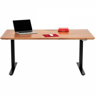 KARE Design Výškově nastavitelný stůl Symphony - hnědý, 180x90cm