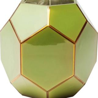 KARE Design Zelená skleněná váza Art Pastel 18cm