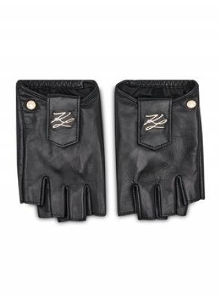 KARL LAGERFELD Dámské rukavice 211W3601 Černá M