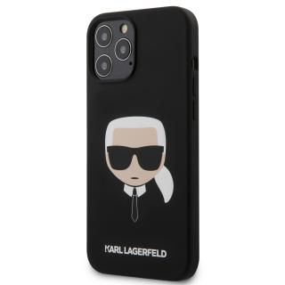 Karl Lagerfeld Head silikonový kryt KLHCP12LSLKHBK Apple iPhone 12 Pro Max black
