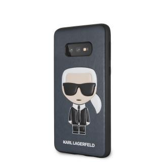 Karl Lagerfeld Ikonik Full Body pouzdro KLHCS10LIKPUBL Samsung Galaxy S10e blue