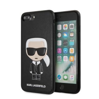 Karl Lagerfeld Ikonik zadní kryt KLHCI8LIKPUBK Apple iPhone 7/8 Plus black