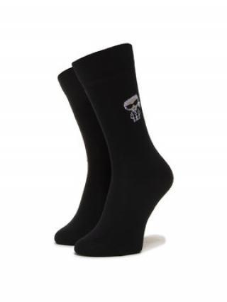 KARL LAGERFELD Pánské klasické ponožky 805504 501102 Černá 39_42