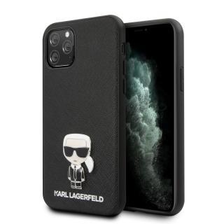 Karl Lagerfeld Saffiano Iconik kryt KLHCN65IKFBMBK Apple iPhone 11 Pro Max black