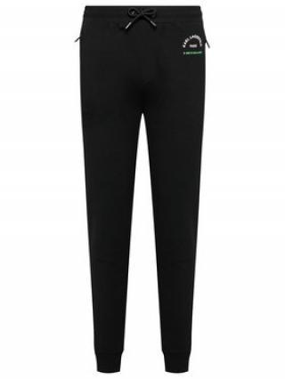 KARL LAGERFELD Teplákové kalhoty Sweat Pants 705092 511910 Černá Regular Fit pánské S