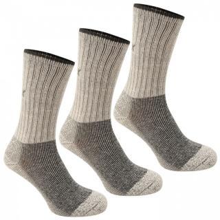 Karrimor Midweight Boot Sock 3 Pack Mens pánské Beige | Other Mens 7-11