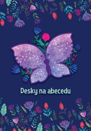 Karton P P Desky na písmena Motýli