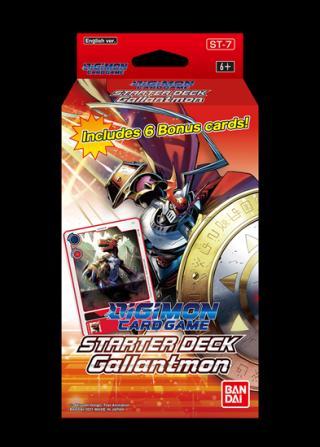 Karty Digimon - Gallantmon  Starter Deck